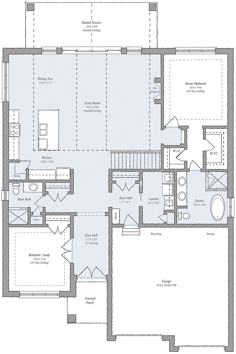 The Berkley Floorplan