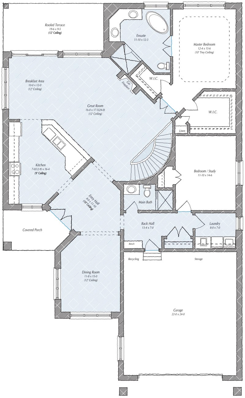 The Fairmont Floorplan