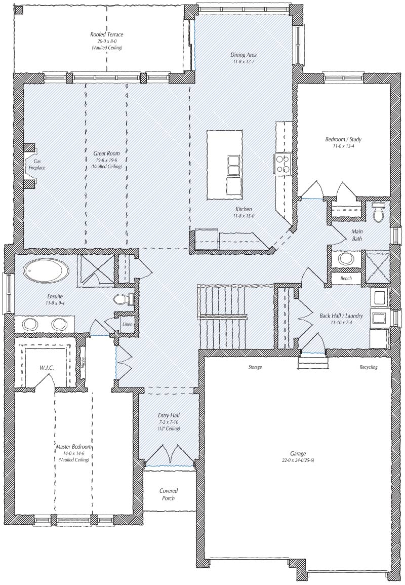 The Newbury Floorplan