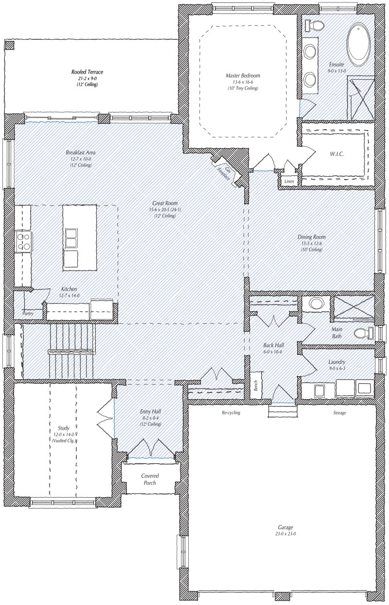 The Newport Floorplan