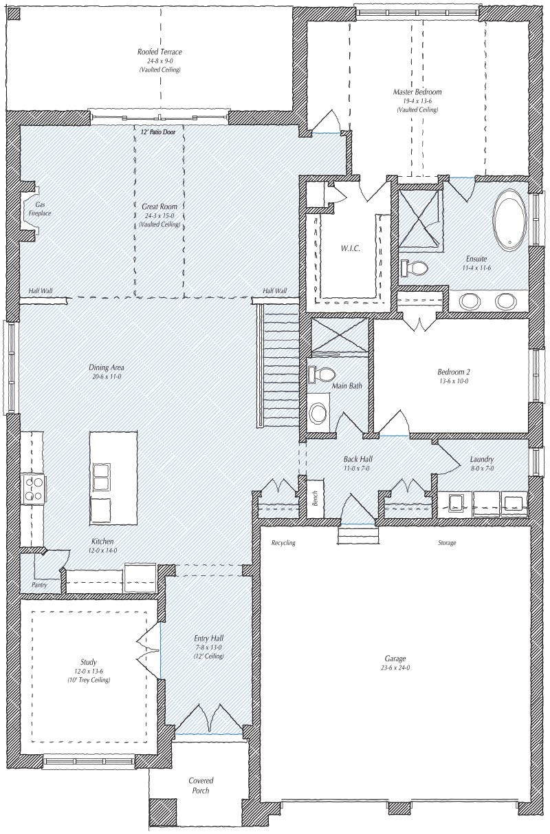The Ridgeview Floorplan