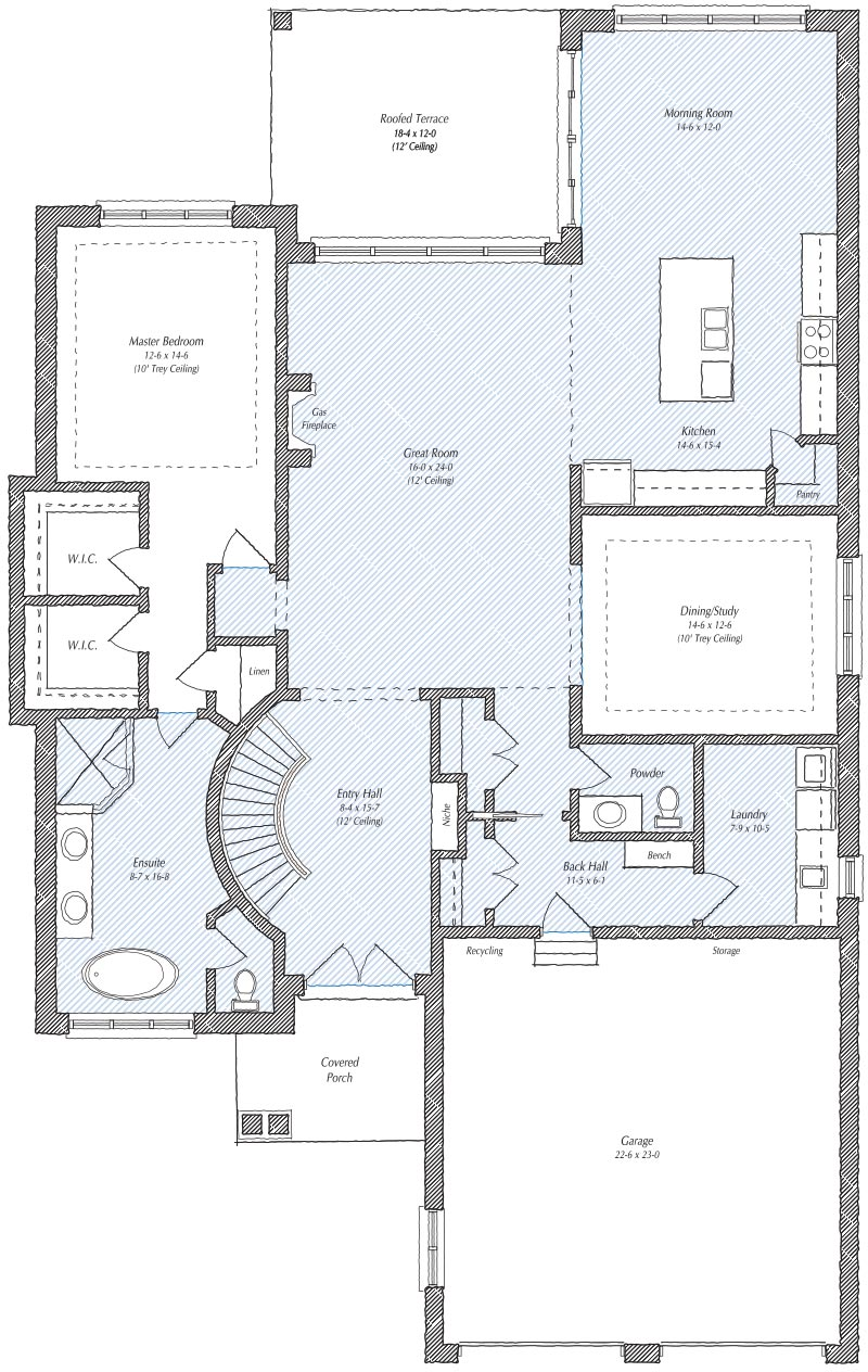 The Rosedale Floorplan
