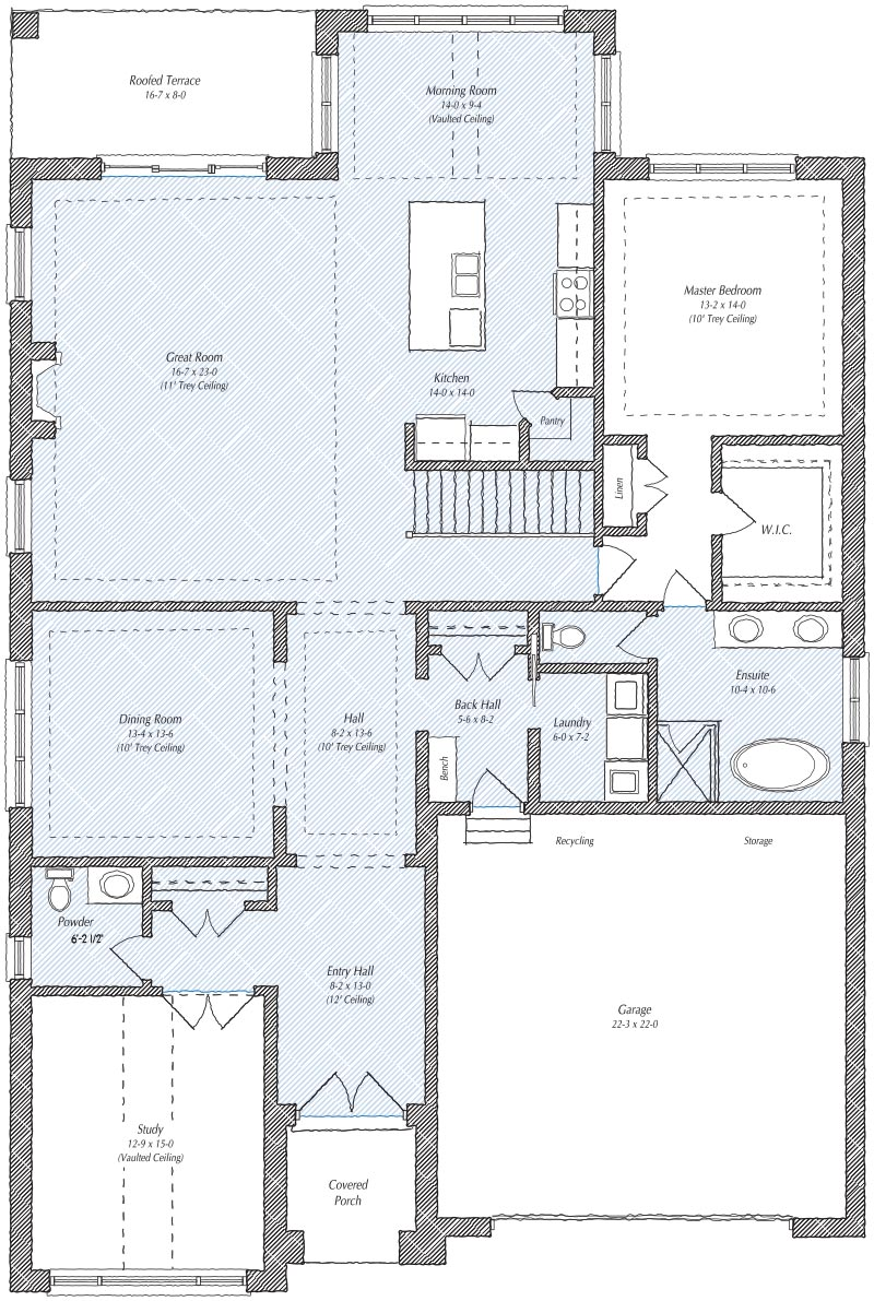 The Stratford Floorplan